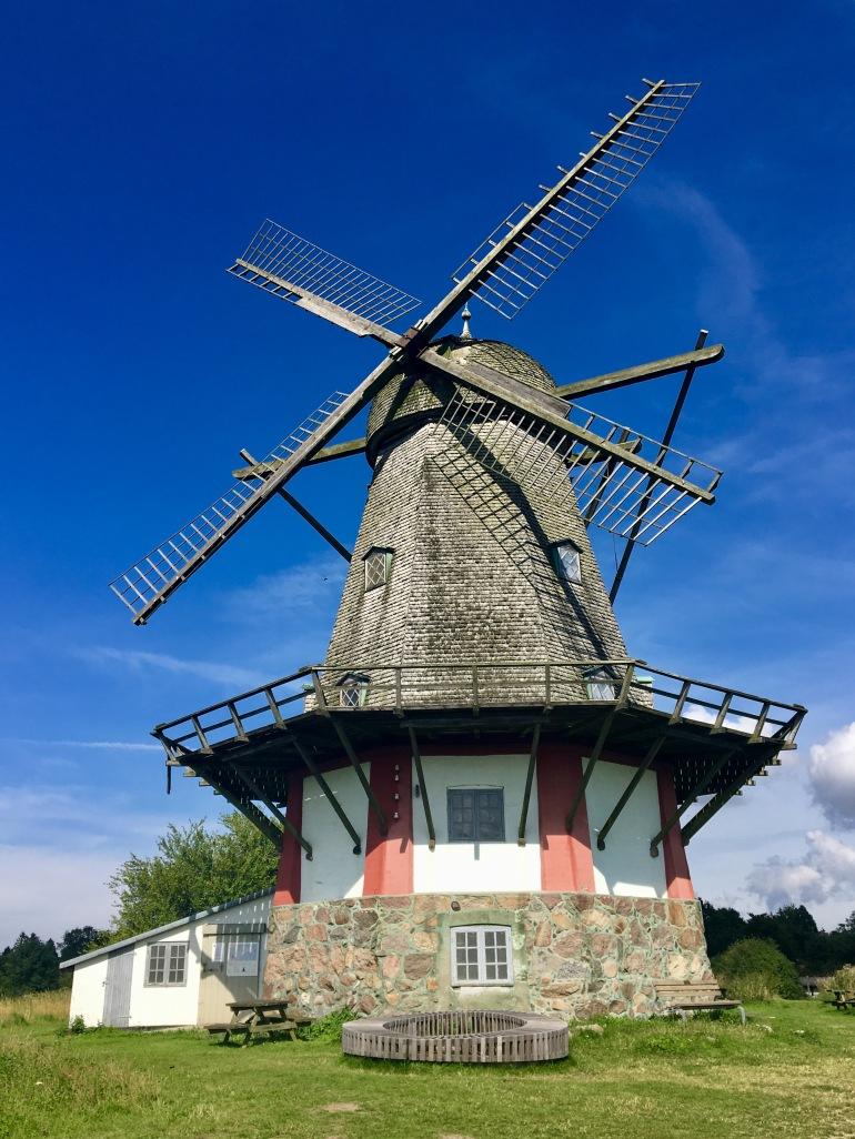 windmill in Bogø, Denmark