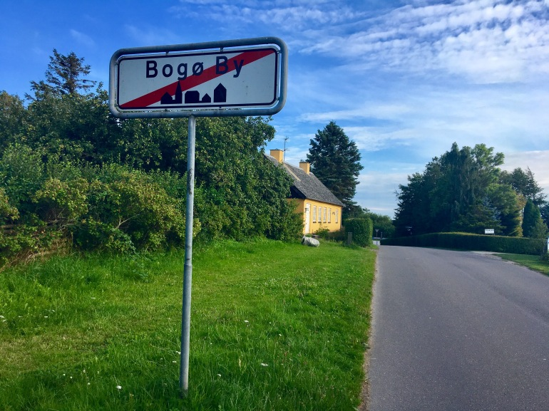 leaving Bogø in Denmark